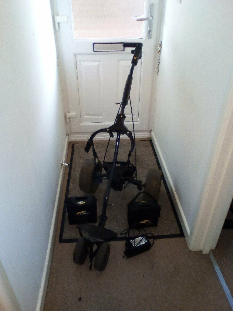 Golf Powakaddy for Spares / Repairs +2batterys and charger | in Stroud,  Gloucestershire | Gumtree