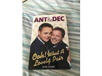Ant and dec our story hardback book