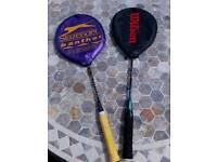 Badmnton racquets