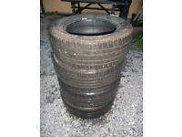 Tyres, Set of 4 Continental Tyres 215/60 x R15