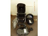 iCandy CHERRY UNISEX Pram PUSHCHAIR Travel System 2in1Perfect condition!
