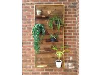 Decorative garden wall or fence panel