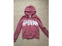 Victoria's Secret PINK zip hoodie - size XS - excellent condition