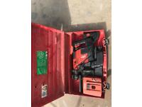 Hilti te 5 a with charger x2 batteries