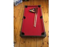 Kids pool table for 20 pounds