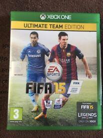 Xbox One Fifa 15 Disc Version