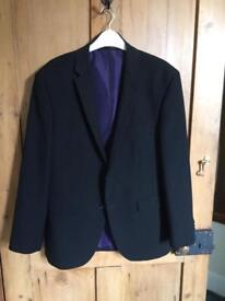 Men's black jacket (40s)