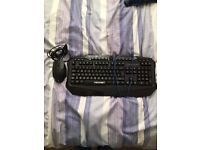 Illuminated Keyboard and Mouse set!!