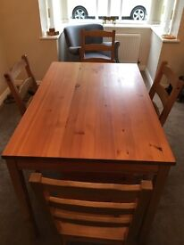 Table and 4 Chairs IKEA £50