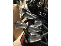 Titleist 714 CB Forged irons, 4-PW, X100 Shafts
