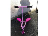 Scooter sporter junior pink
