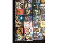 LARGE BUNDLE OF DVDs APPROXIMATELY 60