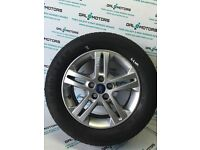 FORD GALAXY MK3 2010-2015 ALLOY WHEEL R16 WITH 6.6 MM TYRE DY63-3