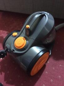 Vacuum power 3 bag less cyclonic cylinder vacuum in excellent condition