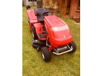 Countax sit/ride on petroleum tractor/mower