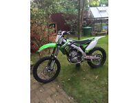 Kawasaki kxf 450 efi 2015 not crf yzf rmz ktm 250