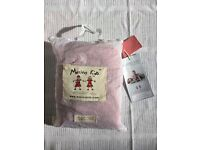 Merino kids sleeping bag, 0-3mo, color: raspberry, used a handful of times only
