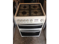 White Cannon Chesterfield 60cm Wide Gas Cooker (Fully Working & 4 Month Warranty)