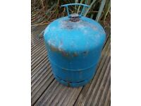 907 Camping Gaz cylinder bottle with carry handle key empty