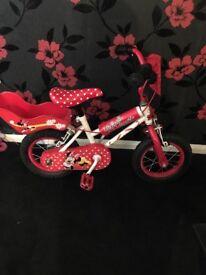 Three Disney, children's bikes for sale! £25 each