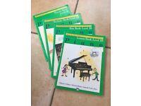 Piano music books - Level 1B
