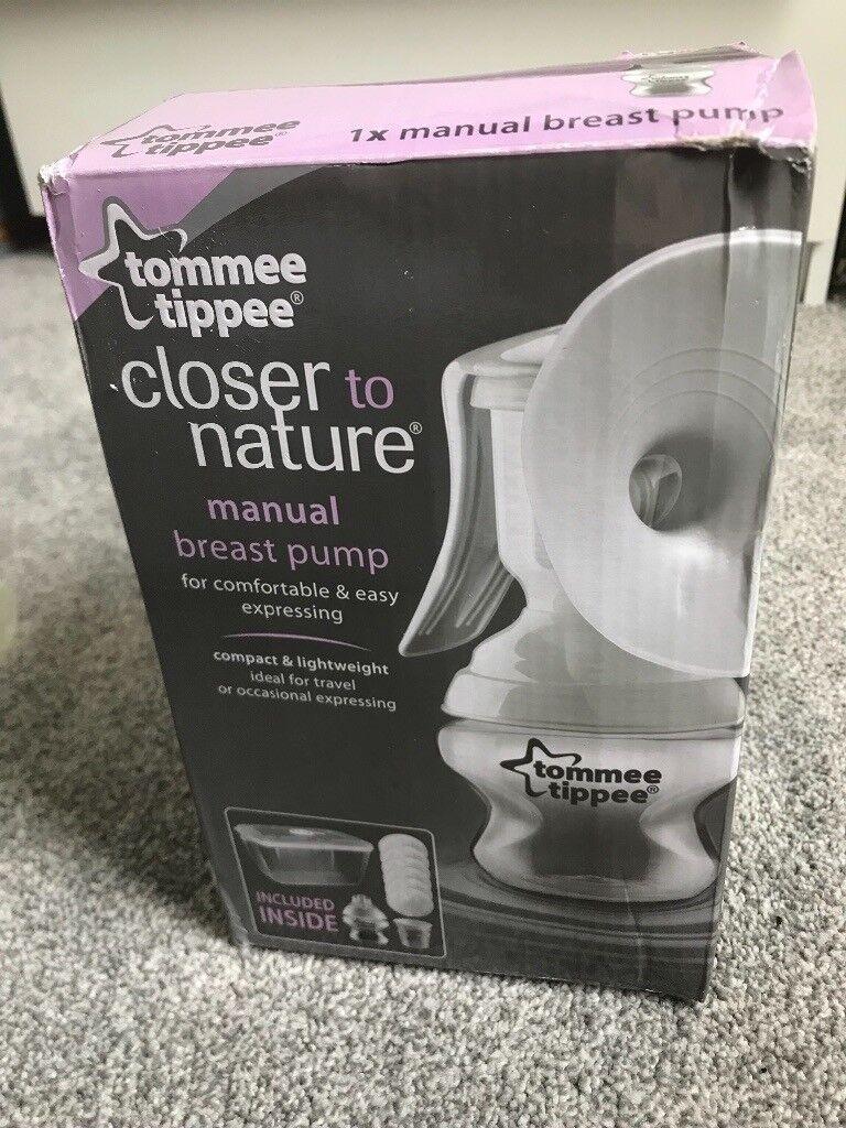 Tommee tippee manual breast pump  4e9de57743b66