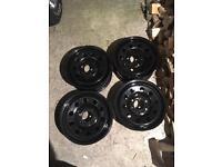 "16"" inch Ford ranger wheels steel mazda off road"