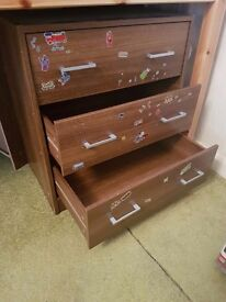 Wardrobe,Chest of drawers,Bedside cabinet
