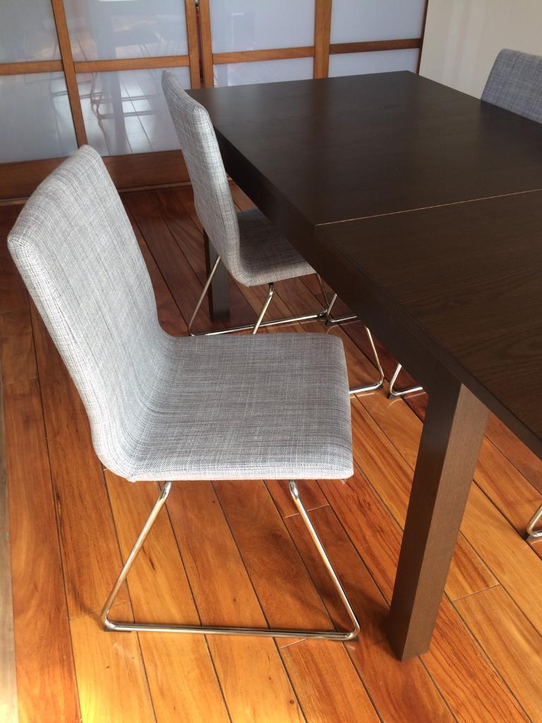 Half Price 4 Ikea Volfgang Chairs In Angel London