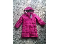 Girls Regatta coat, Brand new and unused, age 5_6 years.