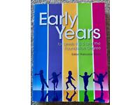 Early Years for Levels 4 & 5 and the Foundation Degree - University Textbook