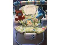 Comfort & Harmony monkey baby bouncer chair in great condition