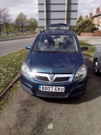 Vauxhall Zafira 2007 1.6 CLUB with 12 and a half months MOT -£1250 On Offers