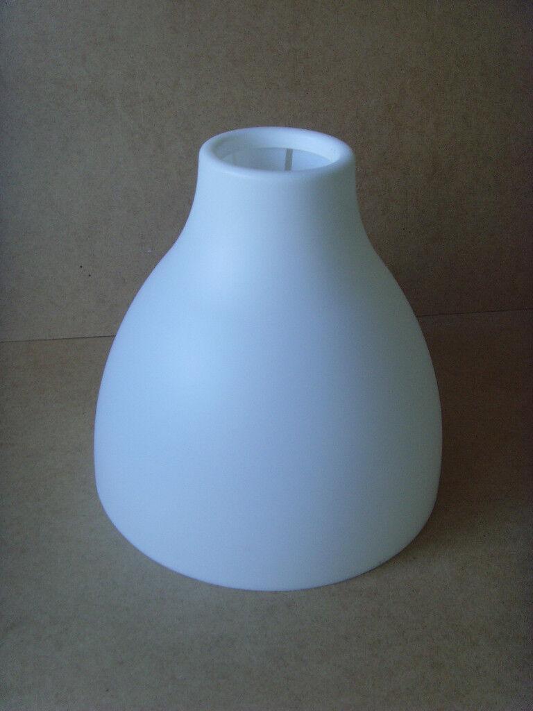 Ikea White Plastic Ceiling Pendant Light Shade