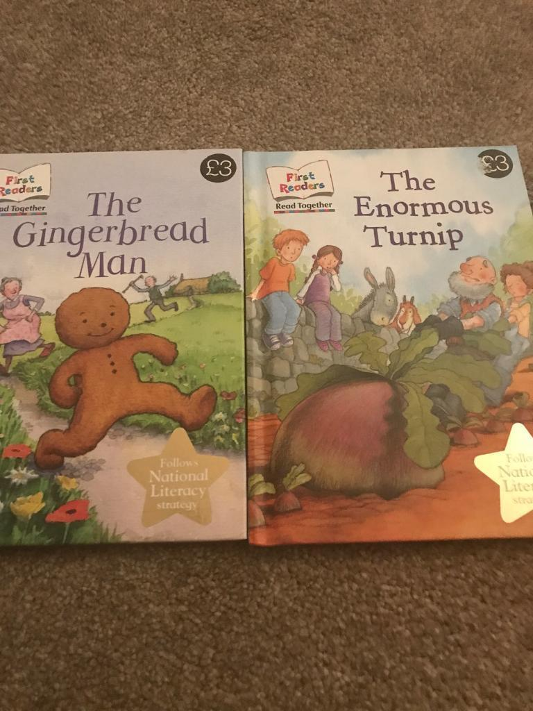 Marks and Spencer's First Reader Books The Gingerbread Man & The Enormous Turnip