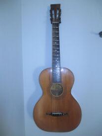 Vintage Parlour guitar early Oscar Schmidt Stella