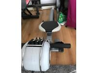 Rowing machine + resistance weight setting