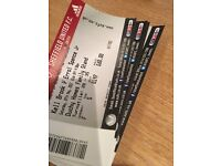 Kell Brook v Errol Spence Sheffield Boxing Tickets Duchy Stand + George Groves