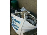 One tonne bag of concrete rubble