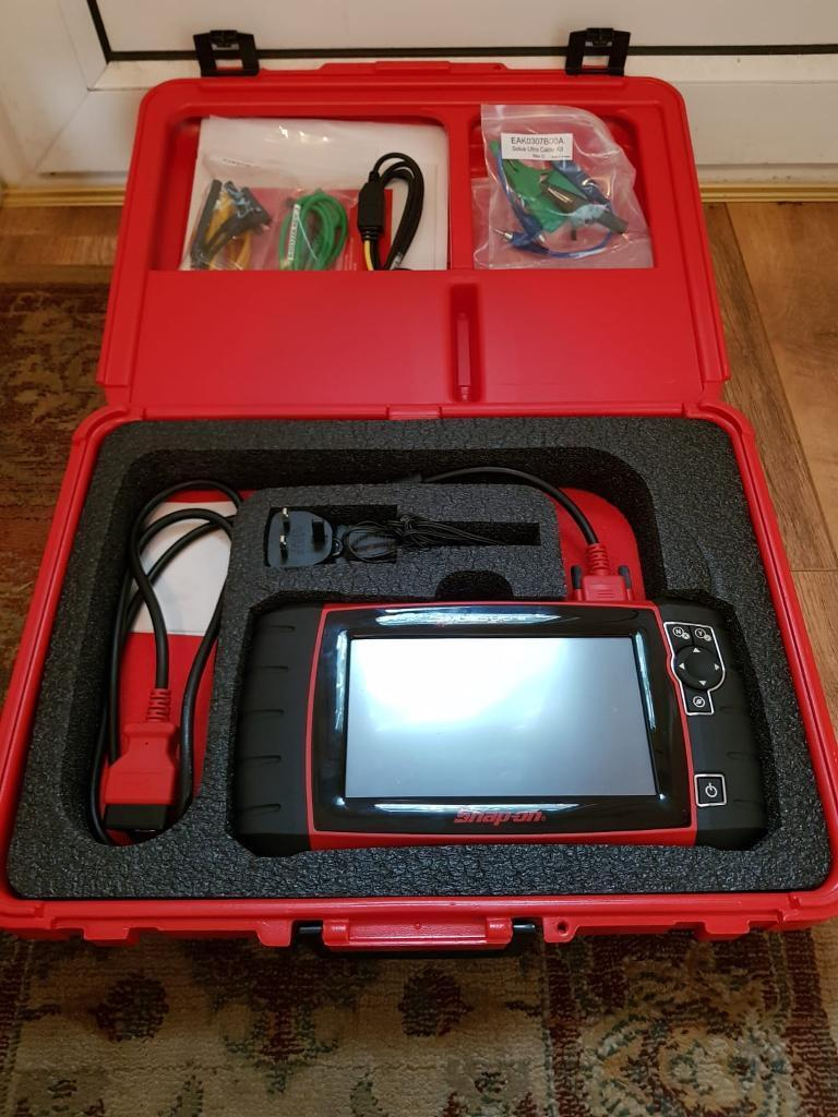 SNAP ON SOLUS ULTRA DIAGNOSTIC SCANNER MACHINE 50TH ANNIVERSARY