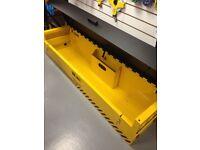 **NEW** Van Vault Landscaper Site Security Box / Chest - Tools Saws