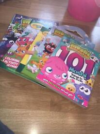 Moshi monsters books