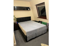 Double bedroom available in North London within a small Muslim Family.
