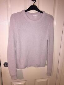 Cream knitted h&m jumper