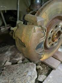 Vw golf mk4 312mm front calipers