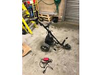 Electric golf trolly (with nearly new battery)