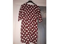 poppy lux dress size 12 new with tags