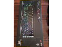 BRAND NEW, UNOPENED, Corsair K95 Platinum RGB Mechanical Gaming Keyboard (Cherry MX Speed Switches)