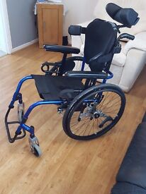Manual Wheelchair with Schawlbe wheels.