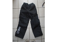 Weise waterproof biking/cycling trousers. Size extra small, Colour Black